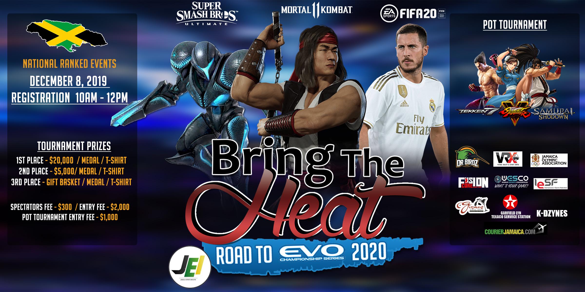Evo 2020 Games.Bring The Heat Details