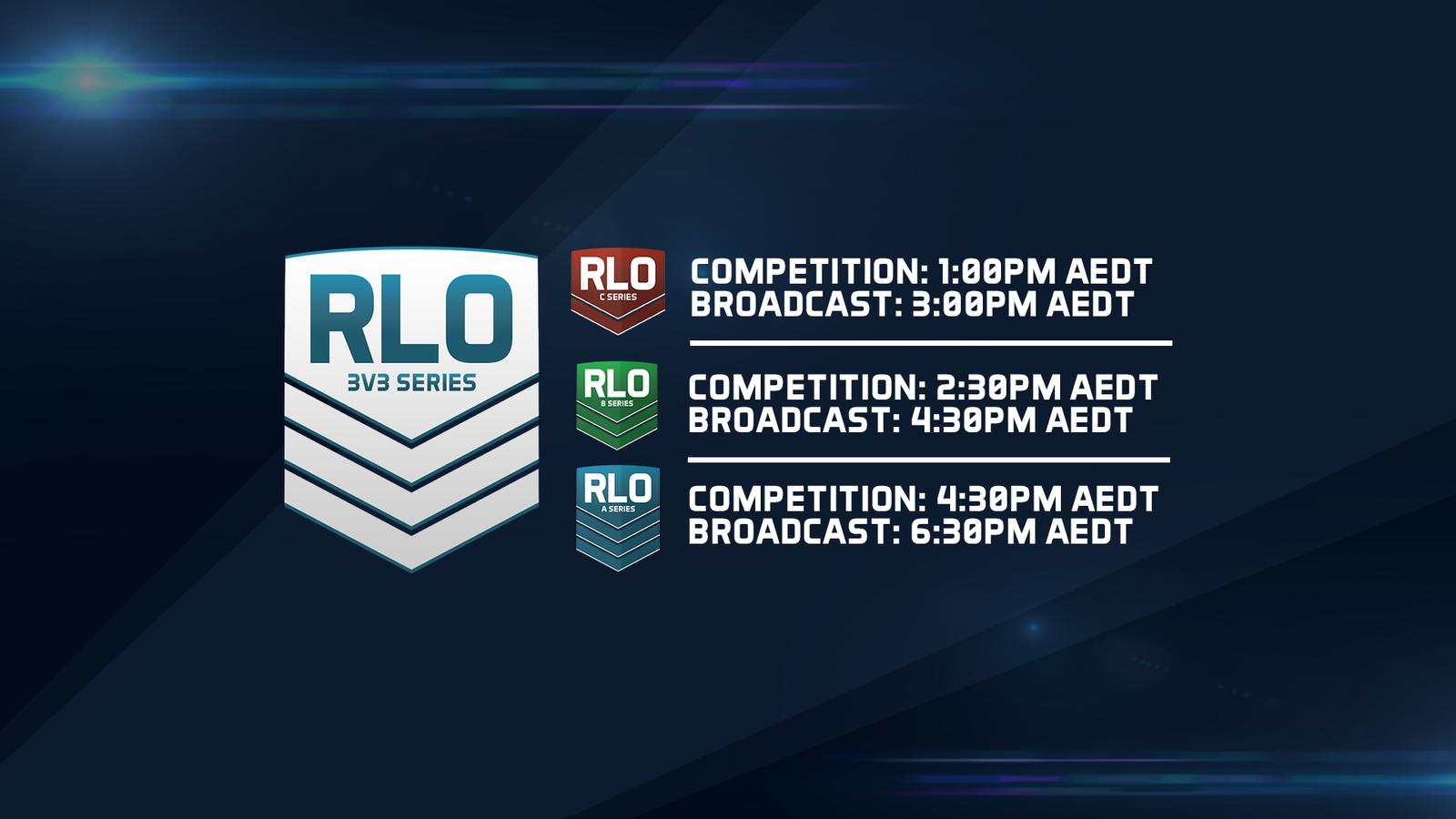 RLO 3v3 Sunday ...   Overview