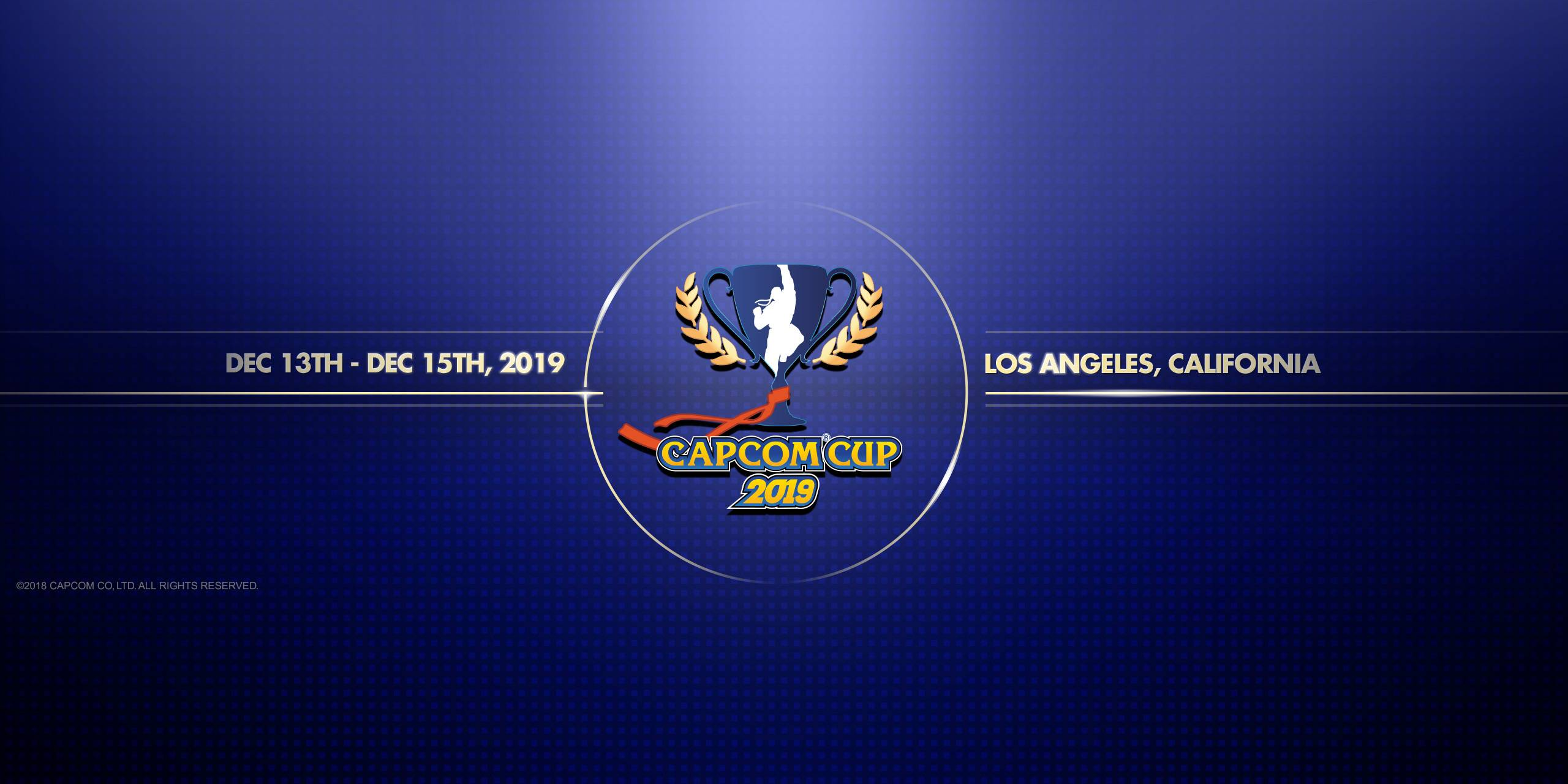Capcom Cup 2019 – kdy, kde a jak